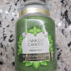 Fresh Mint Original Large Jar Candles Fresh Mint